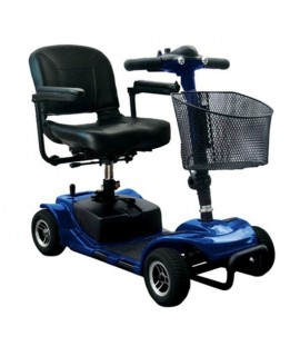 Scooter eléctrico Litium 4 ruedas con cesta