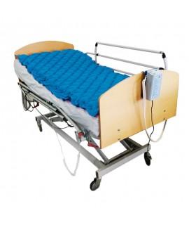 Colchón antiescaras de aire, con compresor, 200 x 90 x 7 y 130 celdas