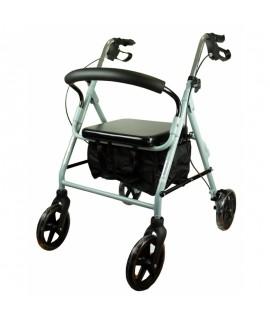 Andador para ancianos de aluminio rollator