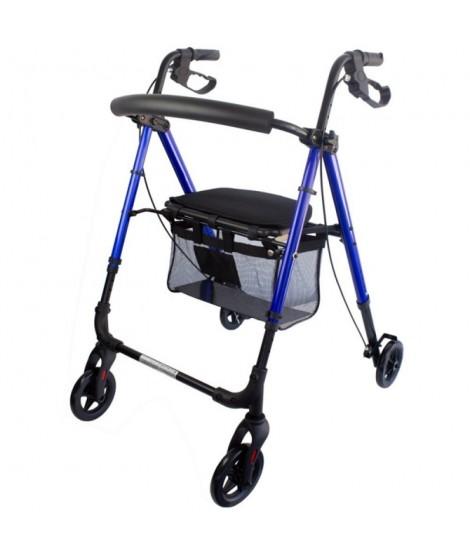 Andador para ancianos altagama de aluminio con frenos en manetas